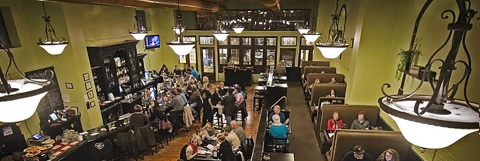 Restaurant dinning room and bar