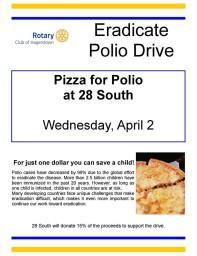 Eradicate Polio Drive Flyer